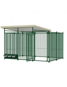 Box Cane Dog Pen 3x2 Ferplast