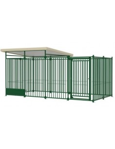 Box Cane Dog Pen 4x2 Ferplast