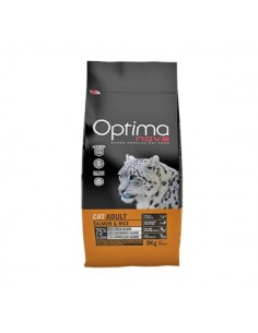 Optimanova Gatti Adult 8 kg con Salmone e Riso