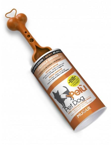 Mugue Spazzola Adesiva Leva Pelucchi Per Cani - Pelù Pet Dog