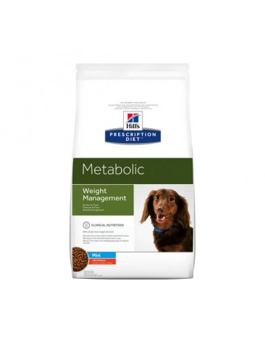 HILL'S PRESCRIPTION DIET METABOLIC MINI 1.5 Kg - Crocchette dietetiche per cani di piccola taglia