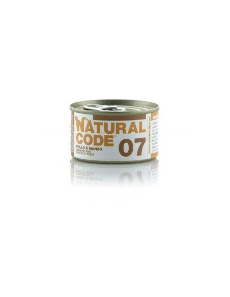 Natural Code - Scatolette Gatto - 85 g