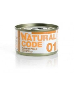 Natural Code - Adult Cat - Scatolette Gatto da 01 a 24 - 85 g