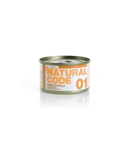 Natural Code - Adult Cat - Scatolette Gatto - 85 g