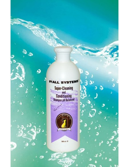 All Systems Super Cleaning and Conditioning Shampoo 500 ml.