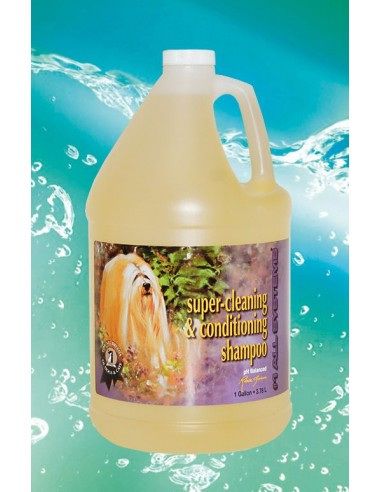 Super Cleaning and Conditioning Shampoo 1 Gallone, 3,78 L