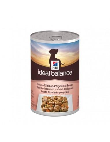 Hill's Ideal Balance Canine Adult - Salmone e Verdure - Barattolo gr. 363