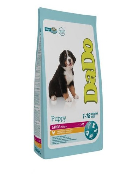 Dado Cane Puppy Large Breed Pollo 12 Kg