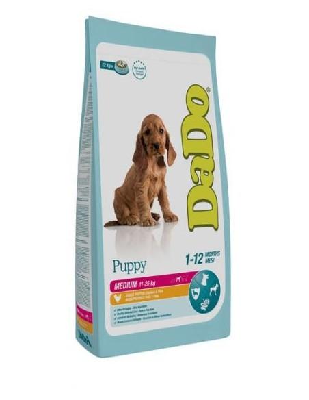 Dado Cane Puppy Medium Pollo 12 Kg