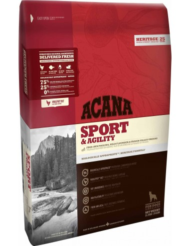 Acana Heritage Sport & Agility - cane