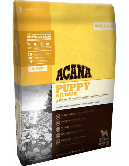 Acana Dog - Heritage - Puppy & Junior - 11,4 Kg