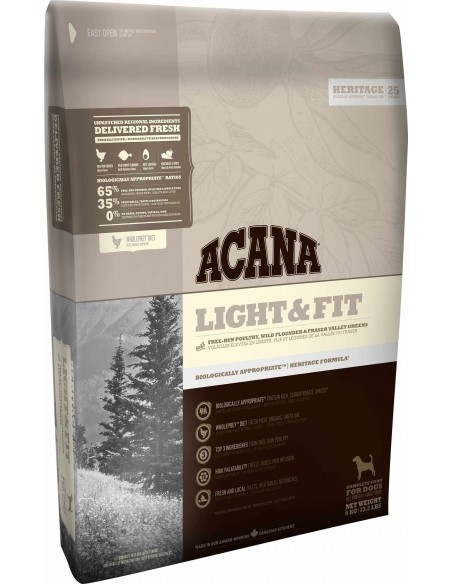 Acana Dog - Heritage - Light & Fit - 2 Kg