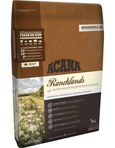Acana Dog - Regionals - Ranchlands - 2 Kg