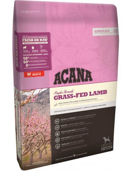 Acana Dog - Singles - Grass-Fed Lamb - 11,4 Kg