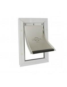 Staywell - Porta in Alluminio per Cani e Gatti - Bianco - 600ML