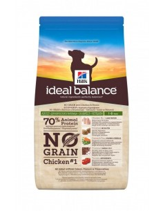 Hill's Ideal Balance Canine Adult No Grain Pollo e Patate 12 Kg