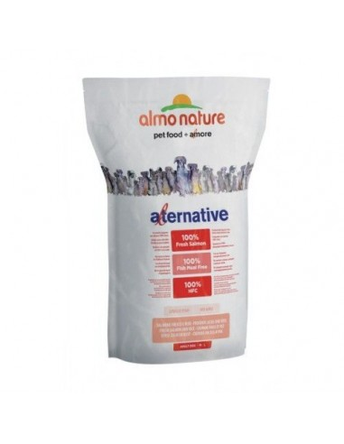 Almo Nature Dog - Alternative - Adult Dog M/L - Salmone Fresco e Riso - 3,75 Kg