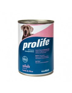 Prolife Wet Dog - Adult - All Breeds - Lamb & Rice - 400 gr. - Barattolo