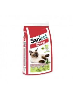 Sanicat - Aloe Vera 30 Days - Lettiera per gatti senza manutenzione - 17 L
