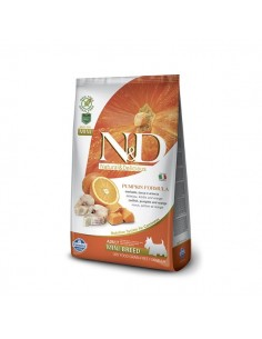 Farmina Dog - N&D Grain Free Pumpkin - Merluzzo & Arancia - Adult Mini - 2,5 Kg