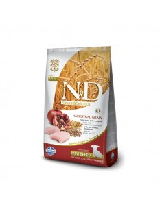 Farmina Dog - N&D Low Ancestral Grain - Pollo & Melograno - Puppy Mini - 2,5 Kg