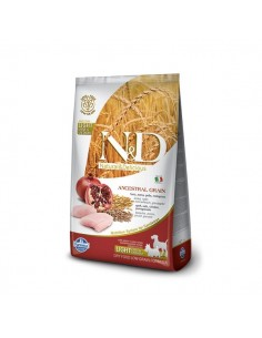 Farmina Dog - N&D Low Ancestral Grain - Pollo & Melograno - Light Mini & Medium - 2,5 Kg