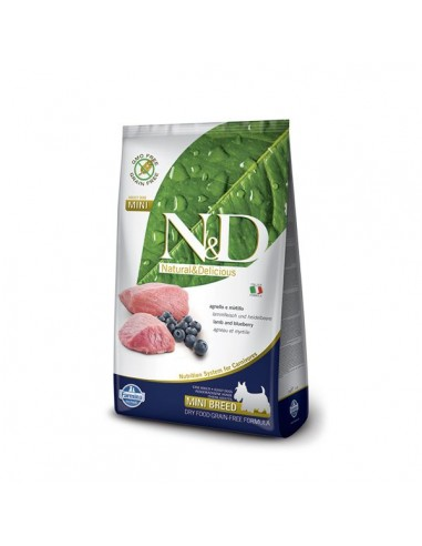 Farmina Dog - N&D Grain Free - Agnello & Mirtillo - Adult Mini - 2,5 Kg