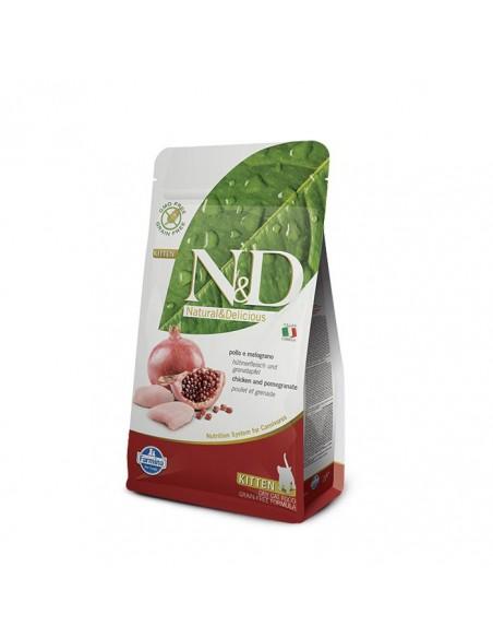 Farmina Cat - N&D Grain Free - Pollo & Melograno - Kitten - 300 g