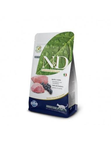 Farmina Cat - N&D Grain Free - Agnello & Mirtillo - Adult - 300 g