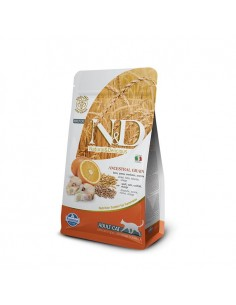 Farmina Cat - N&D Low Ancestral Grain - Merluzzo & Arancia - Adult - 300 g