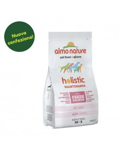 Almo Nature Dog - Holistic Maintenance - XS/S - Adult Dog - Salmone e Riso - 400 g