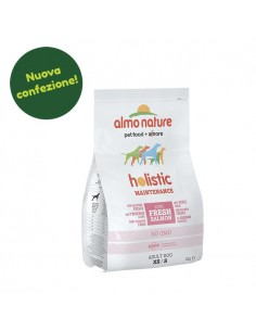 Almo Nature Dog - Holistic - Small - Adult Dog - Salmone e Riso - 2 Kg