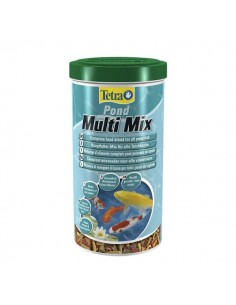 Tetra - Pond - Multi Mix - Miscela di mangimi di base per tutti i pesci da laghetto - 1 l