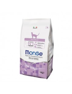 Monge Gatto - Natural Superpremium - Sterilised - Ricco di Pollo - 1,5 Kg