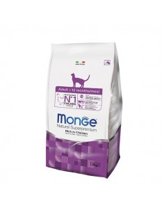 Monge Cat - Natural Superpremium - Adult - Ricco di Pollo - 400 g