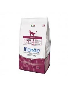 Monge Cat - Natural Superpremium - Indoor - Ricco di Pollo - 400 g