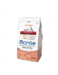 Monge Cane - Mini Adult Salmone e Riso - 2,5 Kg