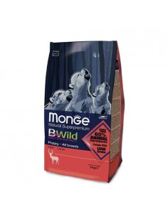Monge cane - All Breeds Puppy & Junior al Cervo - 2 Kg