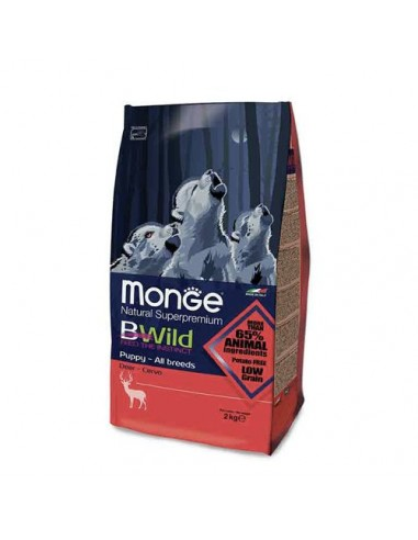 Monge cane - Bwild - Puppy Junior All Breeds - Cervo - 2 Kg