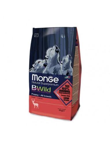 Monge cane - Bwild - Puppy Junior All Breeds - Cervo - 2 Kg
