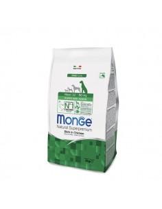 Monge cane - Natural Superpremium - Puppy & Junior - Maxi - Daily Line - Ricco di Pollo - 12 Kg