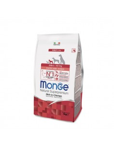 Monge cane - Mini Puppy & Junior Ricco di Pollo - 3 Kg