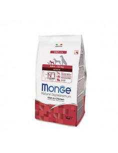 Monge cane - Natural Superpremium - Senior - Mini - Daily Line - Ricco di Pollo - 3 Kg