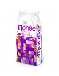 Monge Gatto - Natural Superpremium - Hairball - Ricco di Pollo - 10 Kg