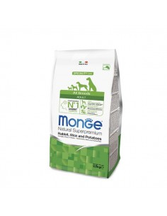 Monge Cane - Natural Superpremium - Adult - All Breeds - Speciality Line - Coniglio, Riso e Patate