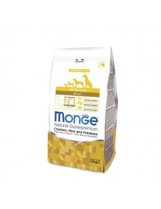 Monge Cane - All Breeds Adult Pollo, Riso e Patate - 12 Kg