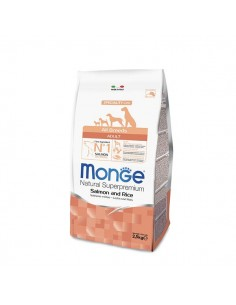 Monge Cane - All Breeds Adult Salmone e Riso - 12 Kg