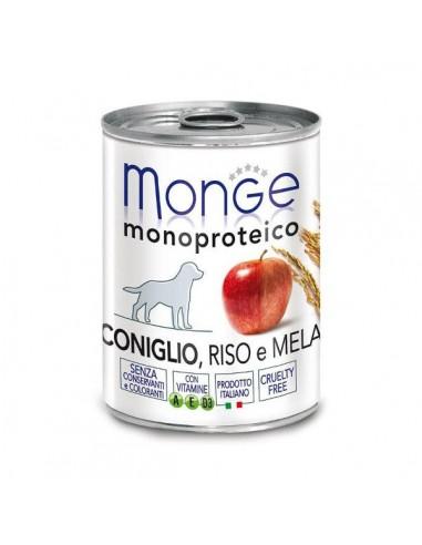Monge Cane - Natural Superpremium - Monoproteico alla Frutta - Barattolo - 400 g