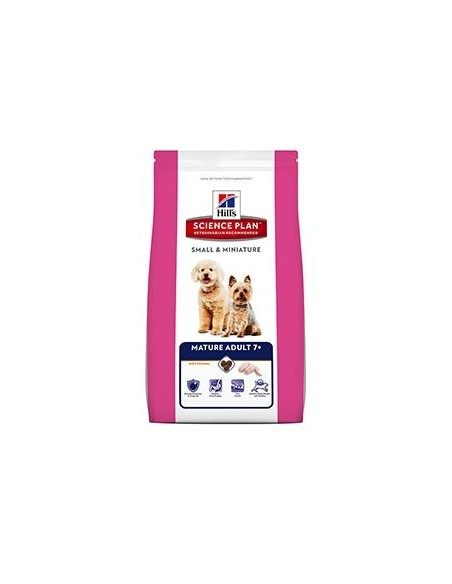 Hill's Science Plan Canine Mature Adult 7+ Small & Miniature Pollo Kg.1.5