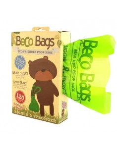 Beco Pets - Poop Bags - Handle Pack - Dispencer con 120 sacchetti con maniglie